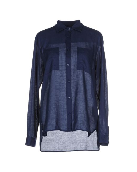 Aglini | Blue Shirt | Lyst