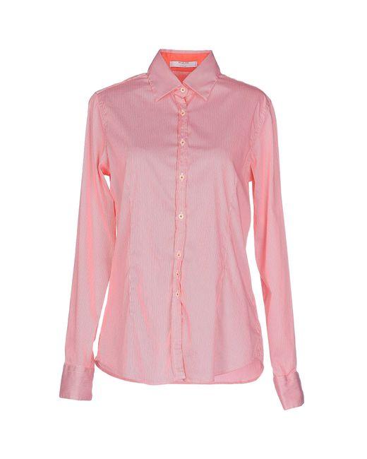 Aglini | Pink Shirt | Lyst