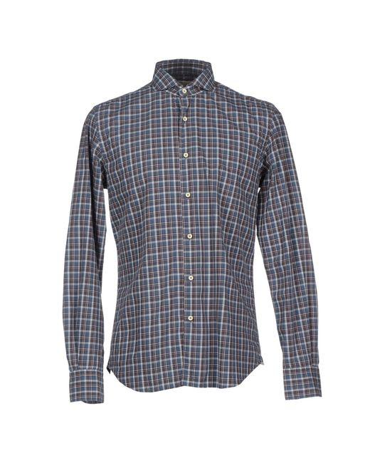 Xacus | Brown Shirt for Men | Lyst