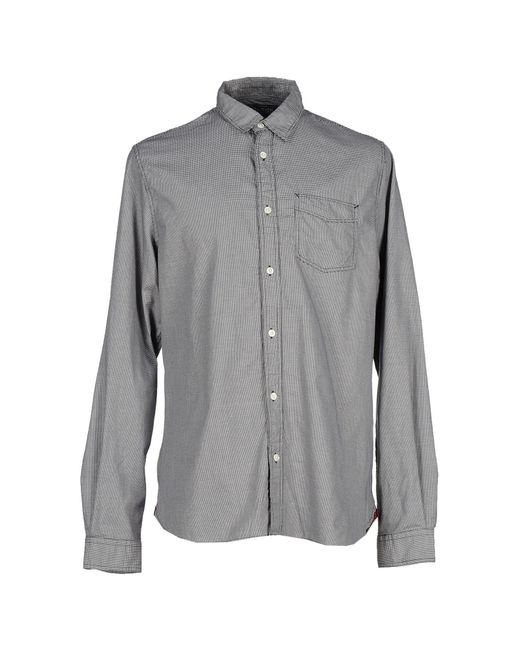 Woolrich | Gray Shirt for Men | Lyst