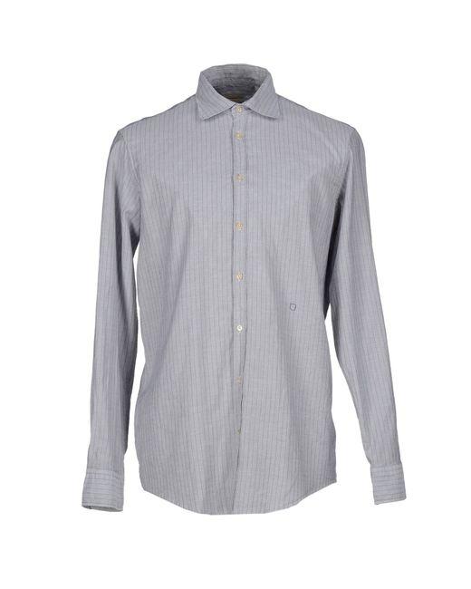 Massimo Alba   Gray Shirt for Men   Lyst