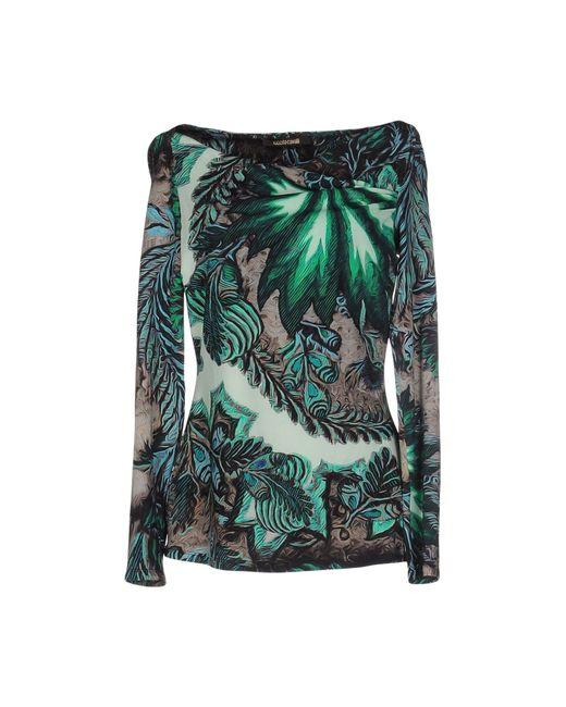 Roberto Cavalli   Green T-shirt   Lyst