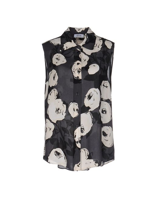 Boutique Moschino   Gray Shirt   Lyst