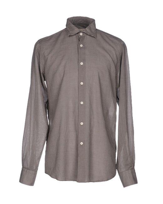 Hamptons | Brown Shirt for Men | Lyst