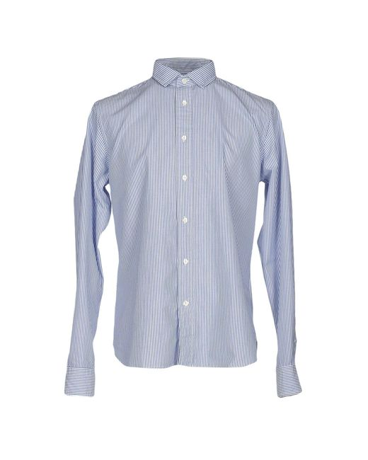 TRUE NYC | Blue Shirt for Men | Lyst