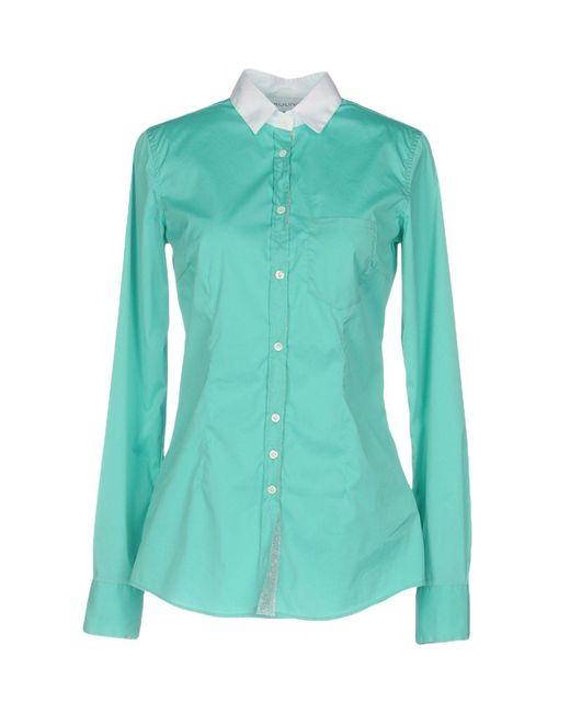 Aglini | Green Shirt | Lyst