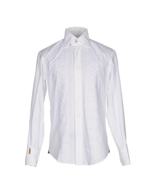 Billionaire   White Shirt for Men   Lyst