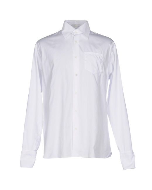 Prada | White Shirt for Men | Lyst