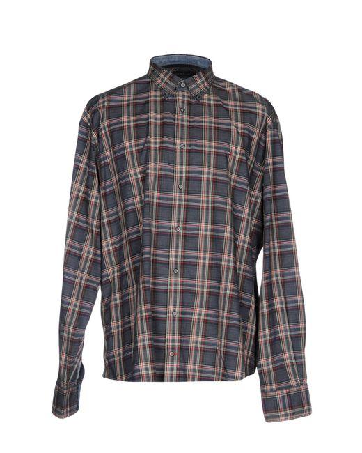Tommy Hilfiger | Blue Shirt for Men | Lyst