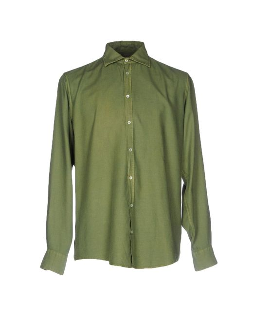 Massimo Alba | Green Shirt for Men | Lyst