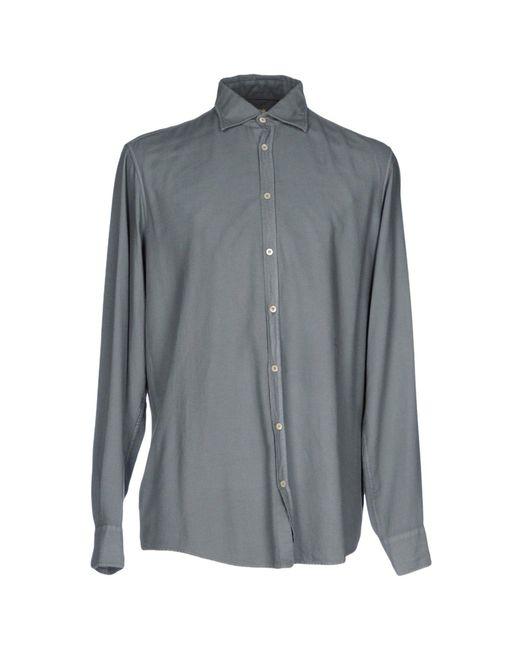 Massimo Alba | Gray Shirt for Men | Lyst