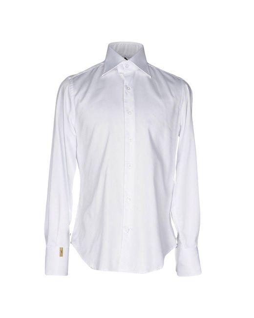 Billionaire | White Shirt for Men | Lyst