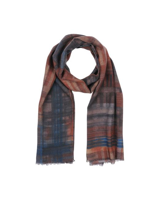 Fiorio - Brown Oblong Scarf for Men - Lyst