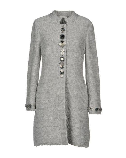 Charlott - Gray Coat - Lyst