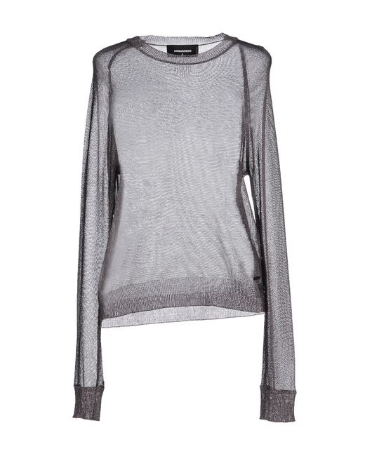 DSquared²   Gray Sweater   Lyst