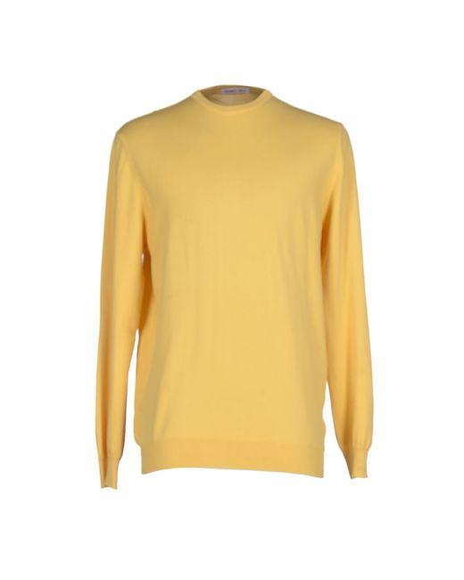 Romeo Gigli | Yellow Sweater for Men | Lyst