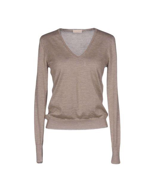 Cruciani | Natural Sweater | Lyst