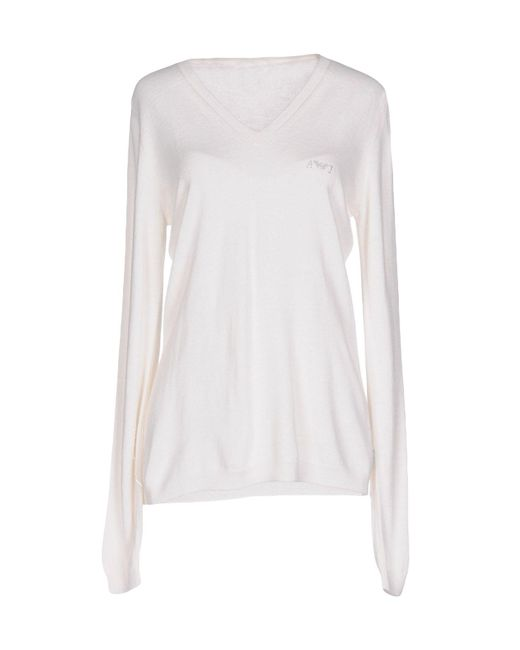Armani Jeans | White Sweater | Lyst