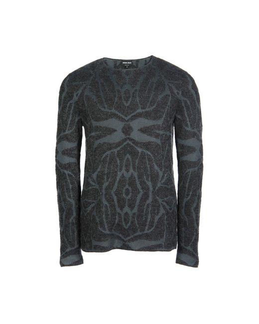 Giorgio Armani   Blue Sweater for Men   Lyst