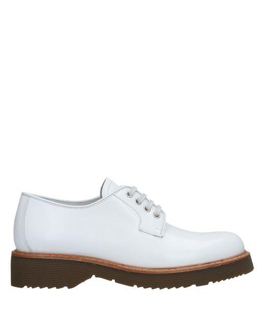 c14f6d0aba0 Prada Sport - White Lace-up Shoe - Lyst ...