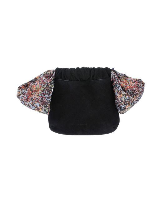 Jil Sander Navy - Black Handbag - Lyst