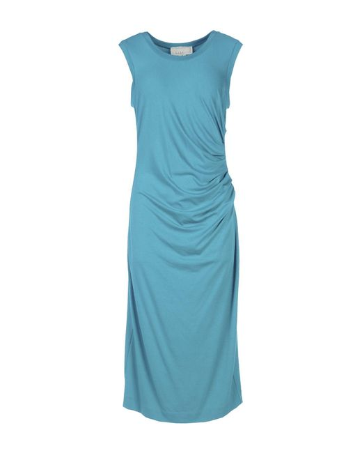 Nicole Miller Artelier - Blue Knee-length Dress - Lyst