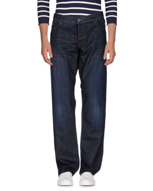 BOSS Orange - Blue Denim Pants for Men - Lyst