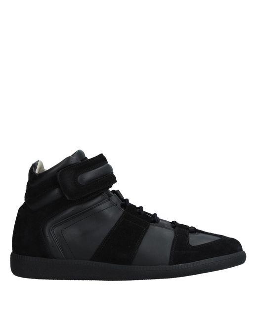 Maison Margiela - Black High-tops & Sneakers for Men - Lyst