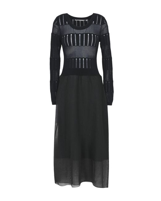 Silvian Heach - Black Long Dress - Lyst