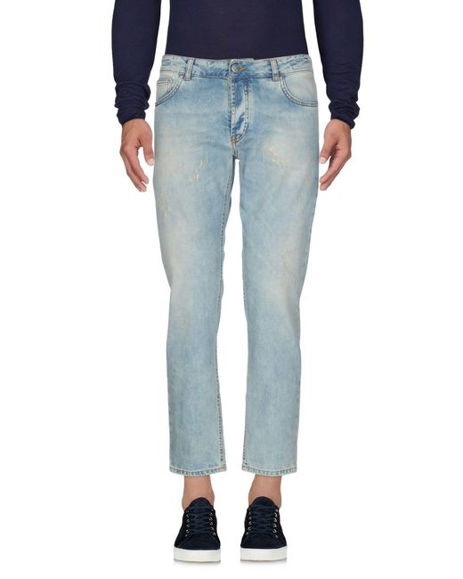 Michael Coal - Blue Denim Pants for Men - Lyst
