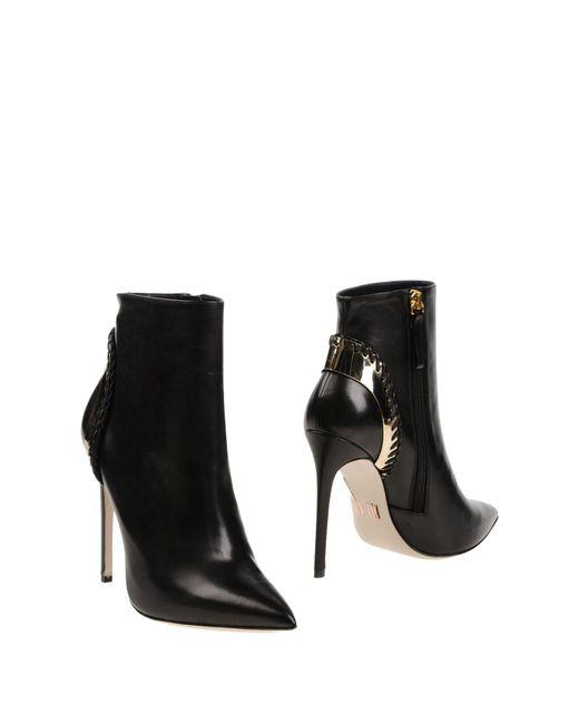 Daniele Michetti - Black Ankle Boots - Lyst