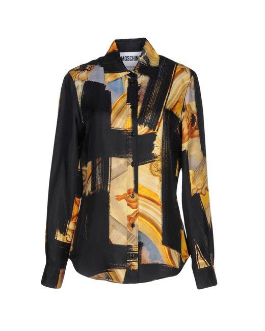 Moschino - Black Shirt - Lyst