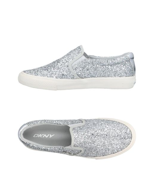DKNY - Metallic Low-tops & Sneakers - Lyst