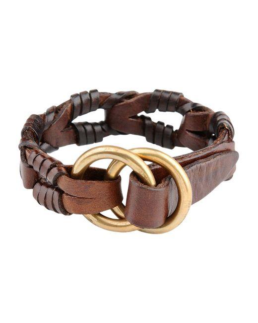 DSquared²   Brown Bracelet   Lyst