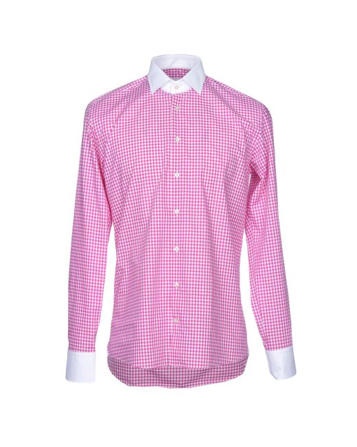 Etro - Purple Shirt for Men - Lyst
