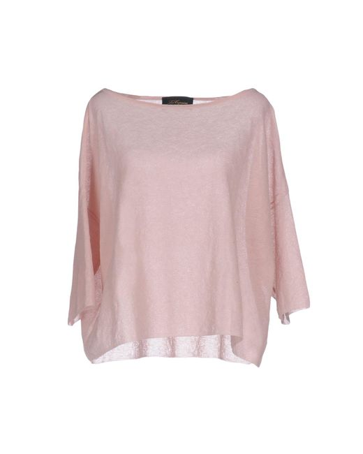 Les Copains - Pink Sweater - Lyst