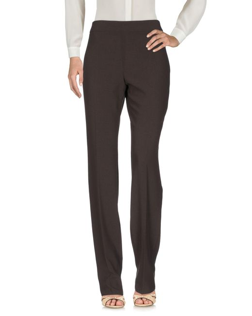 Armani - Brown Casual Trouser - Lyst