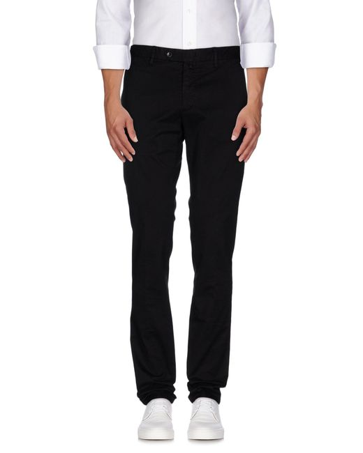 Valentini - Black Casual Pants for Men - Lyst