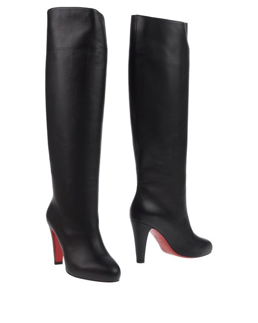 Christian Louboutin - Black Boots - Lyst