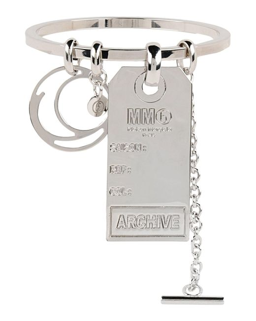MM6 by Maison Martin Margiela - Metallic Bracelets - Lyst