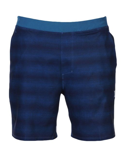 Hurley - Blue Beach Shorts And Pants for Men - Lyst