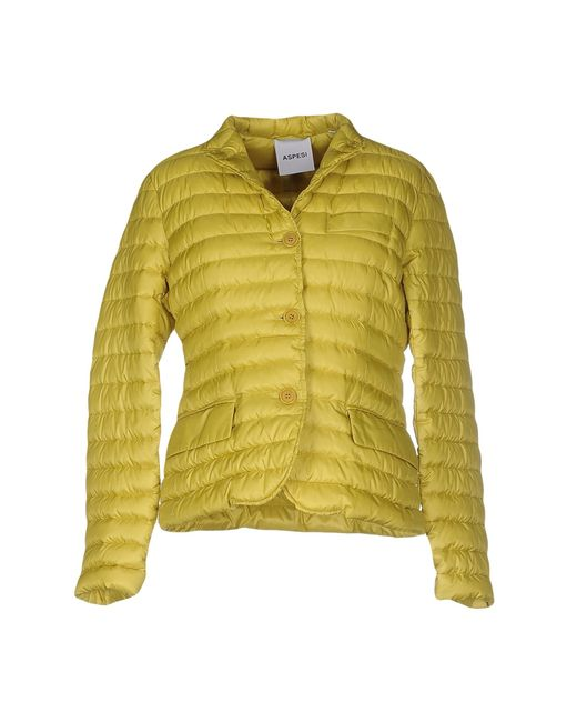 Aspesi   Green Down Jacket   Lyst