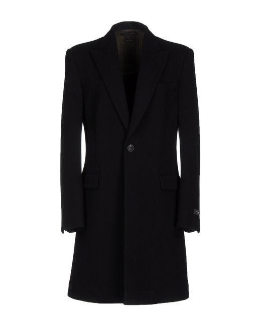 Marc Jacobs | Black Coat for Men | Lyst