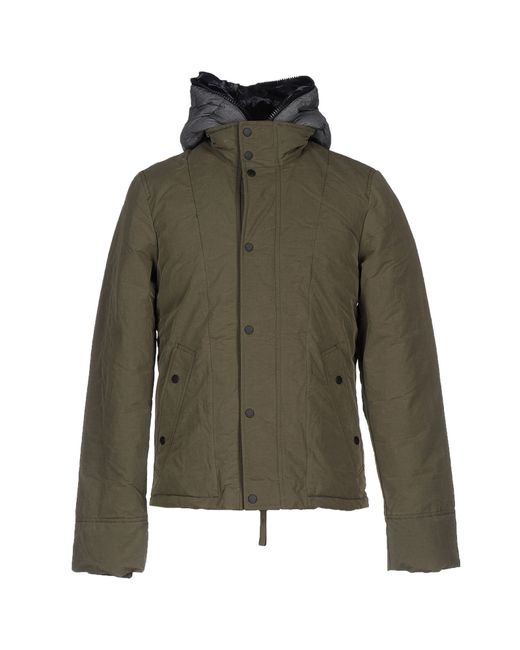 Duvetica Down Jacket In Green For Men Lyst