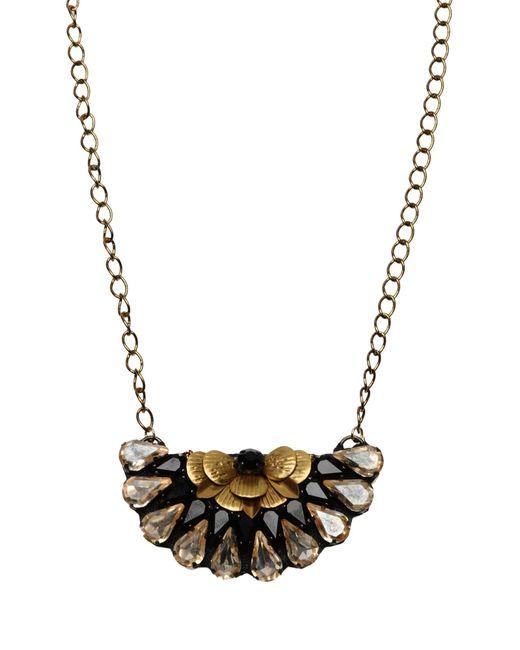 Deepa Gurnani - Metallic Necklace - Lyst