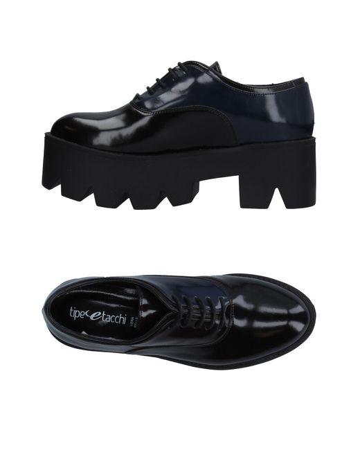 Tipe E Tacchi - Black Lace-up Shoe - Lyst