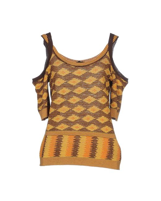 Jo No Fui - Brown Sweater - Lyst