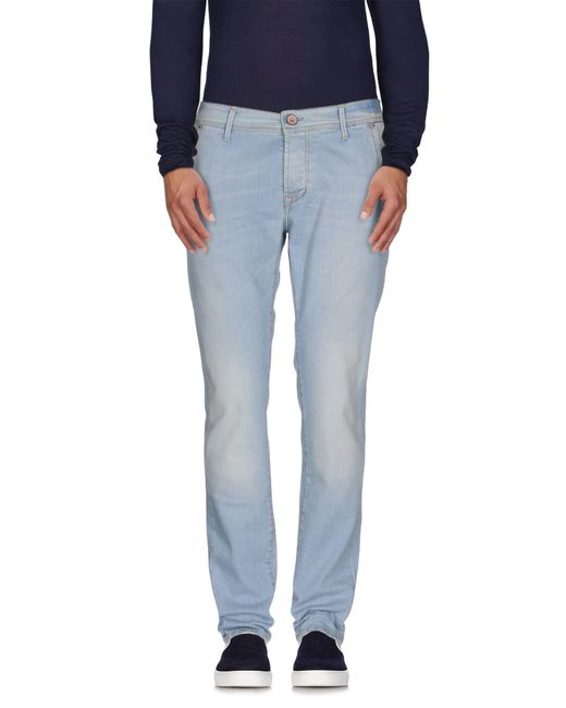 0/zero Construction | Blue Denim Trousers for Men | Lyst