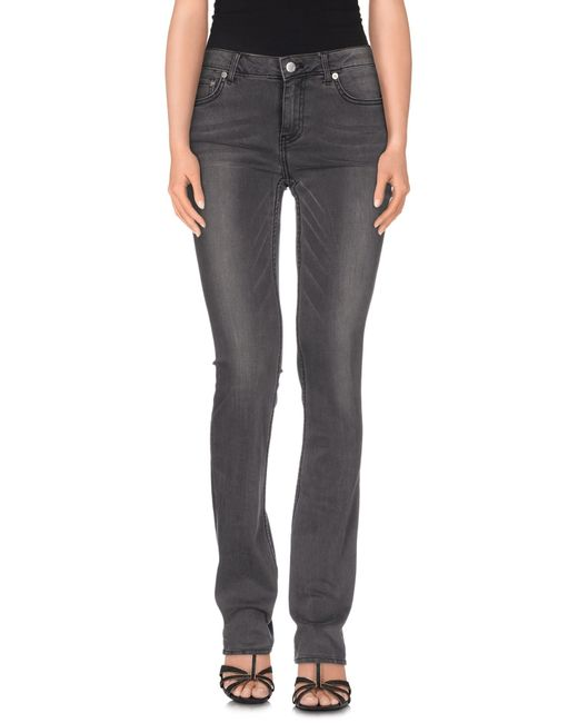 BLK DNM | Gray Denim Pants | Lyst