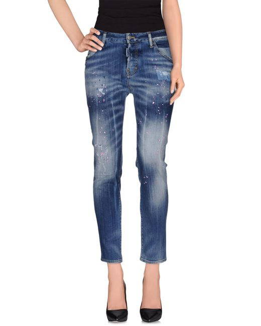 DSquared² | Blue Denim Pants | Lyst